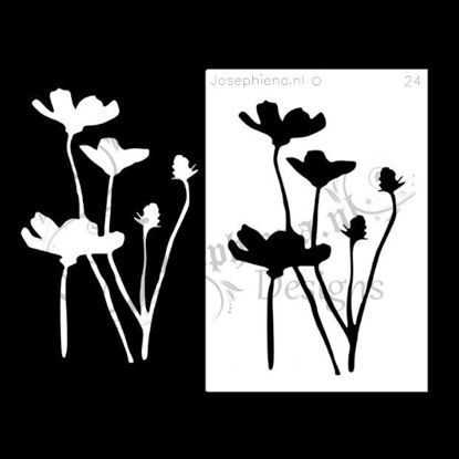 Picture of Wildflowers 2 - stencil