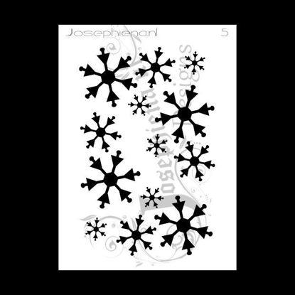 Sneeuw - stencil