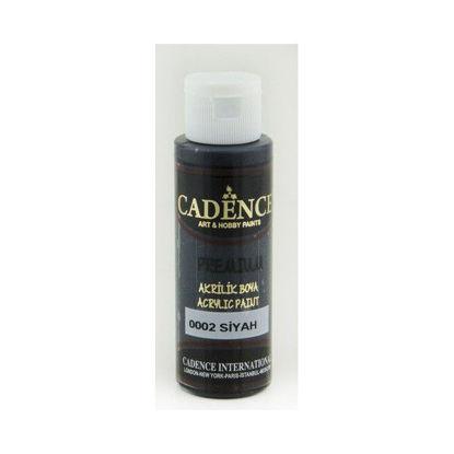 Cadence Premium acrylverf (semi mat) Zwart