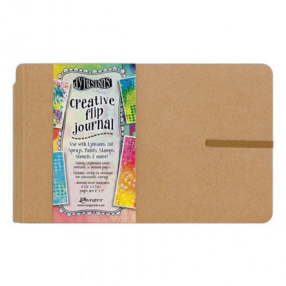 Picture of Dylusions Creative Flip Journal Small