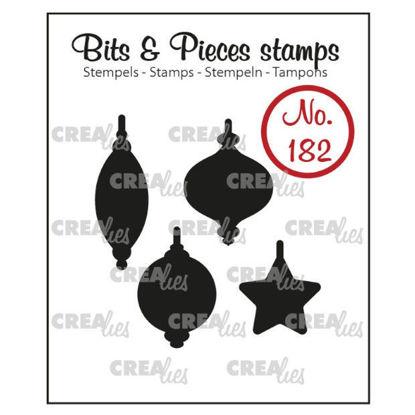 Afbeeldingen van 4x Kerstballen (dicht) - Bits & Pieces