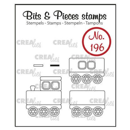 Afbeeldingen van Trein + wagons - Bits & Pieces