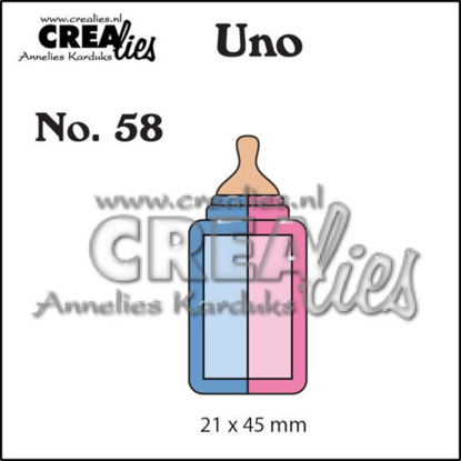 Picture of Feeding bottle (small) - Uno cutting die