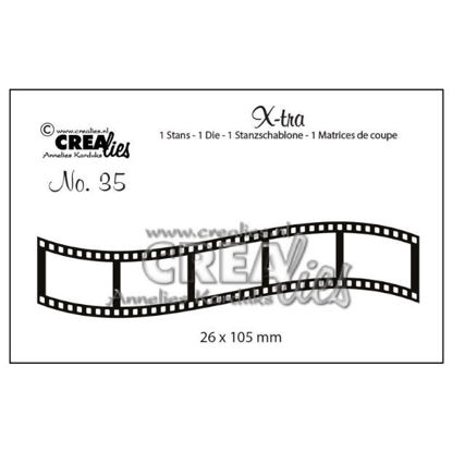 Picture of Curved film strip, small - X-tra dies