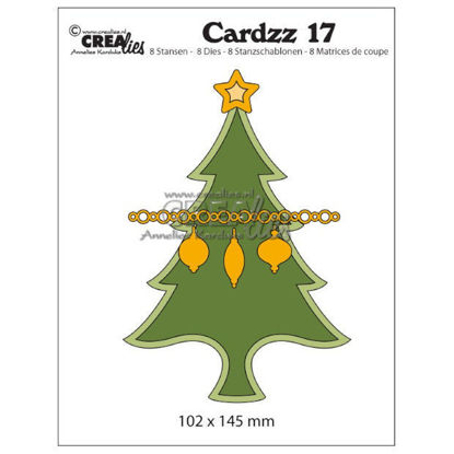 Picture of Christmas tree (card format) - Cardzz dies