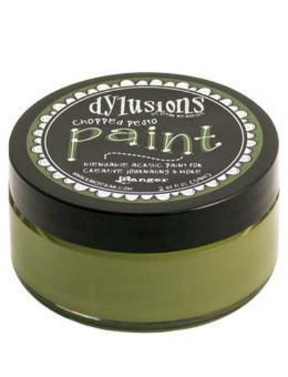 Picture of Chopped Pesto - Dylusions Paint