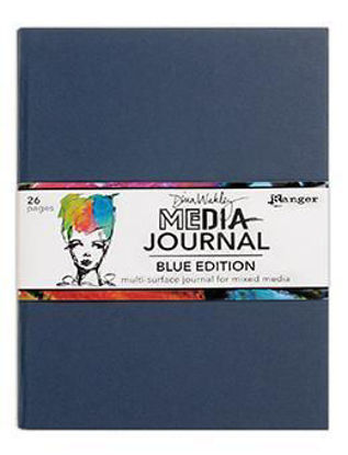 Picture of Dina Wakley Media Journal Blue Edition