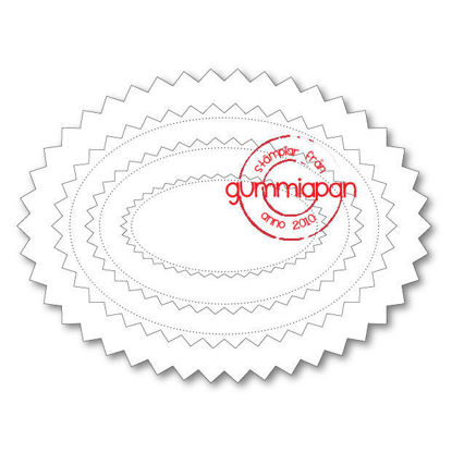Picture of Chevron Oval - Dies