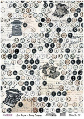 typewriter - letters