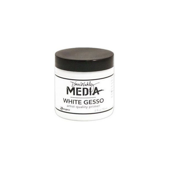 Dina Wakley Media Gesso White