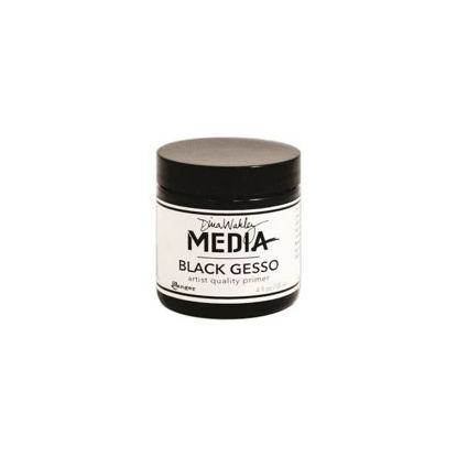 Dina Wakley Media Gesso Black