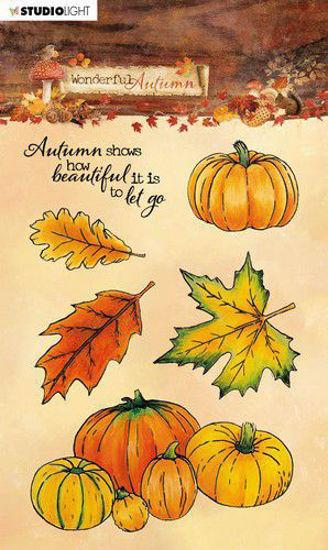Studio Light Stamp A6 Wonderful Autumn nr. 478