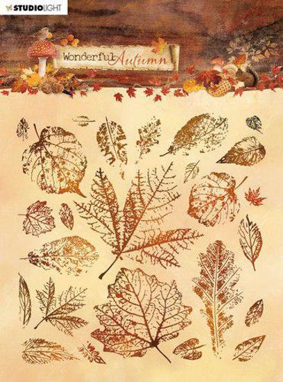 Studio Light Stamp 15x15 cm Wonderful Autumn nr. 483