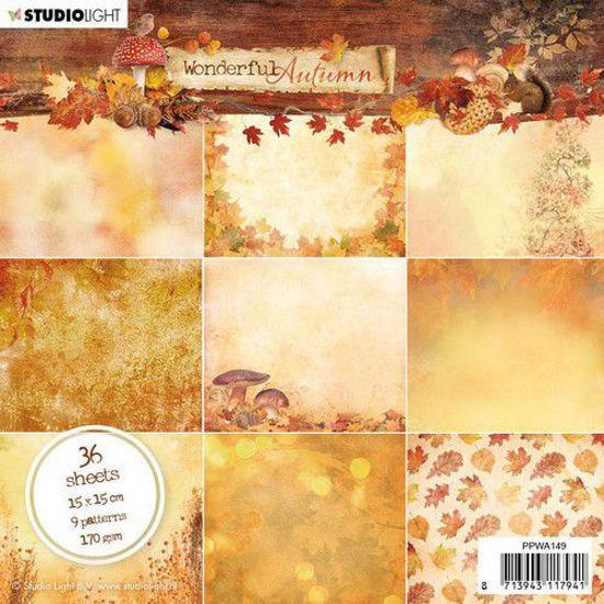 Studio Light Paper Pad Wonderful Autumn nr.149