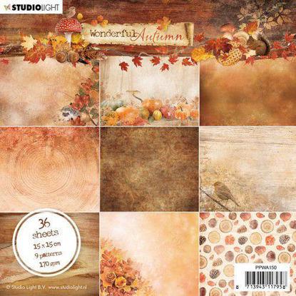 Studio Light Paper Pad Wonderful Autumn nr.150