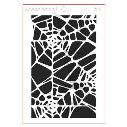 Spinnenweb - stencil