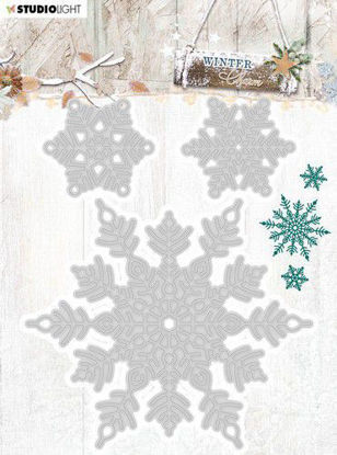 Studio Light Embossing Die Cut Stencil Winter Charm nr.325