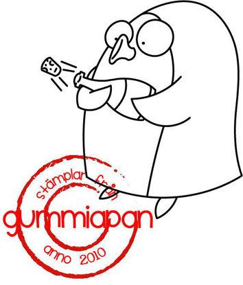 Picture of Åkesson -stempel met stans - Gummiapan - (normaal €6,50)