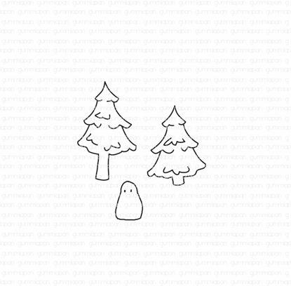 Mini Christmas Trees and Ben