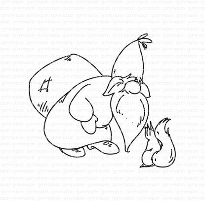 Santa with a squirrel