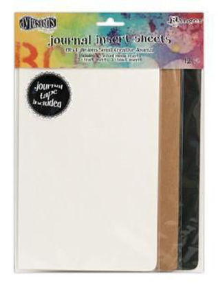 Dylusions Creative Journal Small Insert Sheets