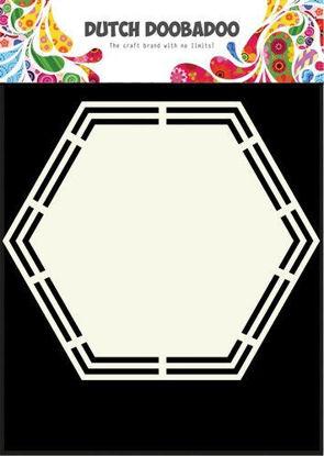 Dutch Shape Art Hexagon A5