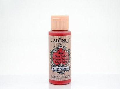 637 Crimson Matt Fabrıc Paınts - Cadence