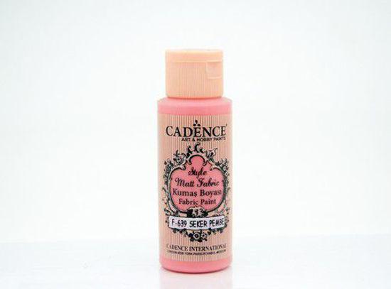 639 Candy Pink Matt Fabrıc Paınts - Cadence