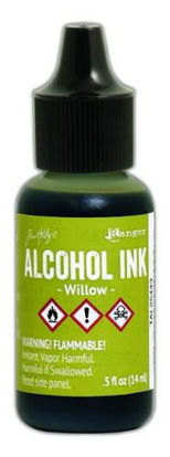 Tim Holtz Alcohol Ink Willow