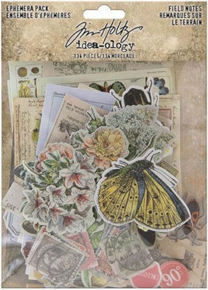 Idea-ology Tim Holtz Field Notes Ephemera Pack