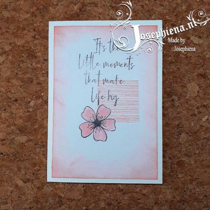 Kaart: Little moments ... Gemaakt door Josephiena