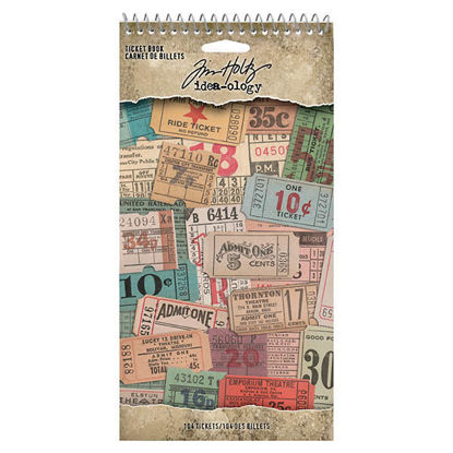 Idea-ology Tim Holtz Ticket Book