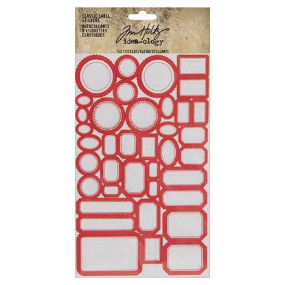 Idea-ology Tim Holtz Classic Label Stickers