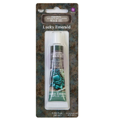 Finnabair Art Alchemy Antique Brilliance Wax Lucky Emerald