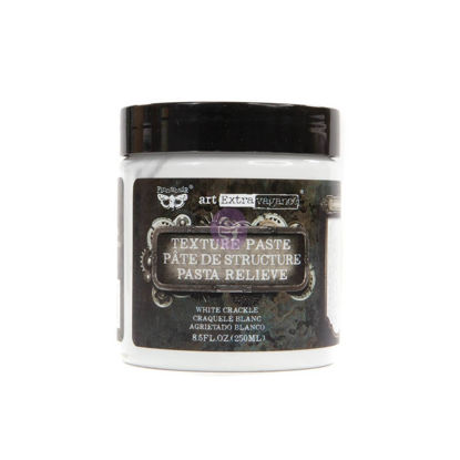 Finnabair Art Extravagance Texture Paste White Crackle