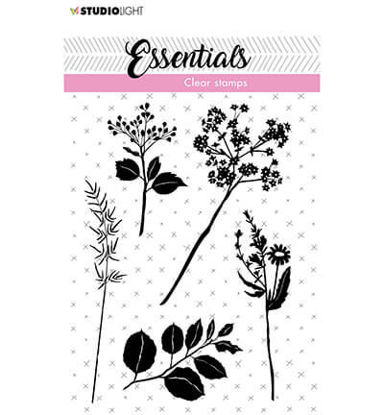 Clear Stamp Flowers/leaves Essentials nr.22