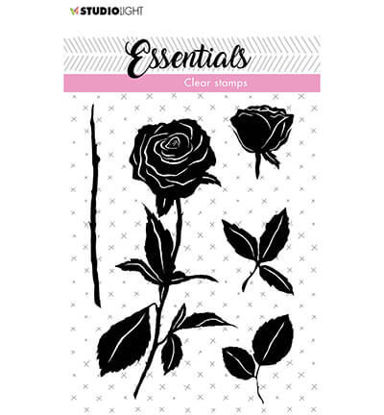 Clear Stamp Roses Essentials nr.28