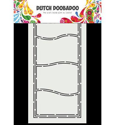 Dutch Doobadoo Card Art Slimline Waves
