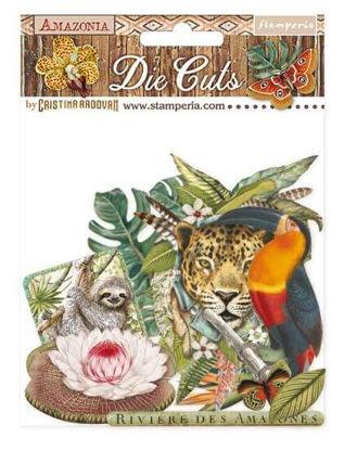Stamperia Amazonia Die Cuts